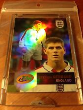 2004 eTopps STEVEN GERRARD Team England (National Team) Soccer Card #13