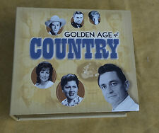 Time Life Golden Age Of Country 10 CD Box Set 2009 Great Condition