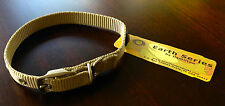 New Hamilton Nylon Adjustable Dog Collar Double Thick Metal Buckle