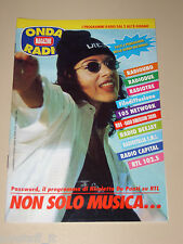 ONDA TIVU RADIO TASCABILE=NICOLETTA DE PONTI RADIO RTL=ANNI '90=