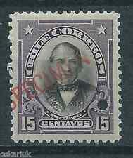 CHILE 1911 Presidents American Bank Note Prieto  MNH SPECIMEN type I