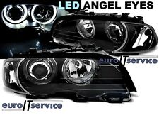 NEUF 2 FEUX AVANT PHARES LAMPS LPBMG5 BMW E46 1999-2003 COUPE CABRIO ANGEL EYES