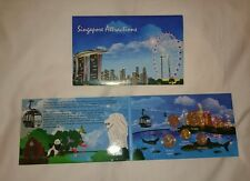 Singapore 2013 Third 3rd Series Coins Set on Singapore Attractions Card+Envelope