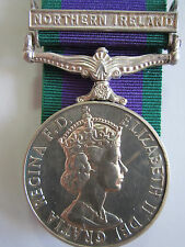 "British General Service Medal 1962 ""NORTHERN IRELAND"" - Sjt. E.J. Carr RCT"