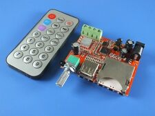 10W * 10W Amplifier Board MP3 decoder board Dual-channel stereo + Remote Contorl