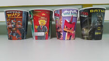 RARE LEGO CUPS FROM MCDONALDS BATMAN METAL BEARD UNI KITTY LORD BUSINESS!