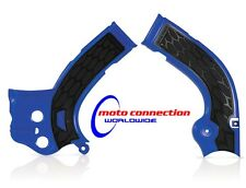 ACERBIS XGRIP FRAME GUARDS BLUE/BLACK YAMAHA YZF YZ250F YZ450F 2014-2017