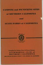1950s Southern California Camping Picnic Guide Outdoors CA State Parks