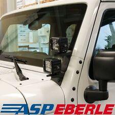 Halter für Scheinwerfer a. Scheibenrahmen double LED Jeep Wrangler JK 07-16
