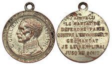 Médaille Au Défenseur de Paris Général GALLIENI 1849-1916. 1°GM/ France, WW1