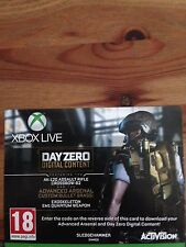 Call OF DUTY ADVANCED WARFARE XBOX ONE DAY ZERO e avanzate Arsenal DLC