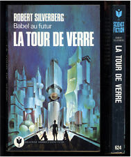 MARABOUT SCIENCE FICTION  624   ROBERT SILVERBERG   LA TOUR DE VERRE