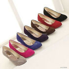 Hot Fashion Sexy Womens Ladies Wedge Heel Pumps Shoes US All Size ZD005