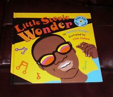 LITTLE STEVIE WONDER by Quincy Troupe and Lisa Cohen NEW with sealed CD