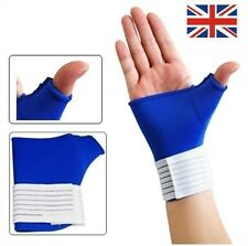 Right Large Neoprene Thumb Adjustable Wrist Glove Hand Support Brace Sports Gym