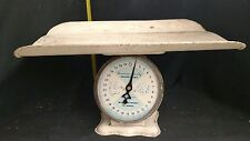 Vintage American Family Nursery Scale w/Basket Infant Baby