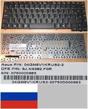 CLAVIER QWERTY RUSSE ASUS A3V A3A R20, 9J.N5382.F0R 04GN9V1KRUS2-2 Noir