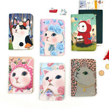 Cute Jetoy Kitty Passport Holder Cover Travel Wallet Card Pocket Case Organizer
