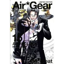 Air Gear #15 Manga Japanese Limited Edition / Oh! Great w/extra