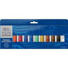 Winsor & Newton Cotman Watercolour Paint 12 x 8ml Tube Set - Assorted Colours
