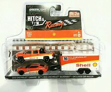 greenlight mijo exclusive racing series hitch and tow Shell racing