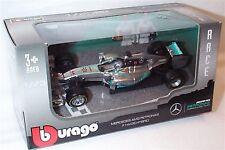 MERCEDES AMG Petronas f1 w05 ibrido Lewis Hamilton AUTO SCALA 1.43 Burago