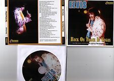 Elvis Presley CD Back On Track In Vegas - Live / Midnight Show 1974