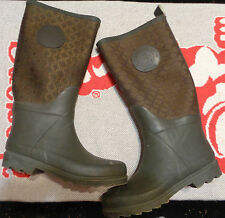 ETIENNE AIGNER Boots~Womens Size 7M~KCalf Length~All Weather