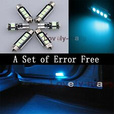 Error Free Ice Blue Led Interior Bulb Light Package Kit For BMW 3 series E46 Y1