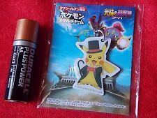 "NEW! POKEMON PIKACHU METAL MASCOT / 1.4"" 3.5cm SEVEN-11 JAPAN LTD / UK DESPATCH"