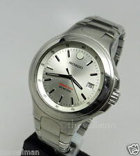 Men's Authentic Swiss Movado 2600029 Series 800 Gray Dial Stainless Steel Watch
