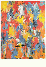 Carte d'Art: Jasper Johns-False start