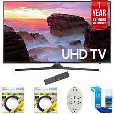 "Samsung 40"" 4K Ultra HD Smart LED TV 2017 Model with Extended Warranty Kit"
