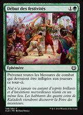 MTG Magic KLD - (x4) Commencement of Festivities/Début des festivités, French/VF