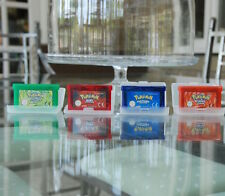 Pokemon Gameboy Games Bundle Leaf Green, Fired Red, Sapphire And Ruby