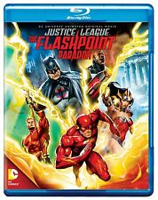 JUSTICE LEAGUE - THE FLASHPOINT PARADOX -  Blu Ray - Sealed Region free for UK