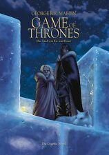 GAME OF THRONES 2 DELUXE-VARIANT-HC +signed Artprint GEORGE R.R.MARTIN lim.99 Ex