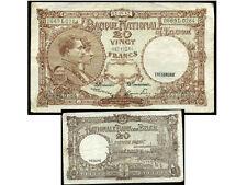 BELGIQUE  BELGIUM   20 francs 25 / 05 / 47