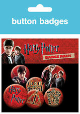 Harry Potter Icon Pack Badge Pack / Pin Set BRAND NEW