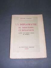 Premier empire Bonaparte papiers nédits de Reubell Bernard Nabonne 1951