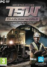 Train Sim World CSX Heavy Haul 2017 (PC DVD) NEW!