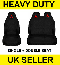 MITSUBISHI Fuso Van Lorry Seat Covers Protectors 2+1 100% WATERPROOF Canter NEW