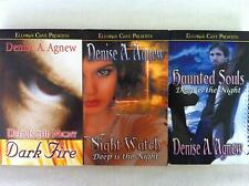 DEEP IS THE NIGHT HAUNTED SOULS DARK FIRE & NIGHT WATCH Denise A Agnew EROTIC PB