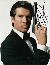 PIERCE BROSNAN signed *JAMES BOND 007* Die Another Day 8X10 photo W/COA PROOF #4