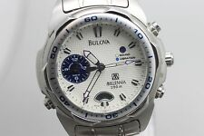 Original Bulova Millennia Quartz Wristwatch Men's Watch For Repair