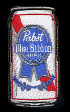 PBR Patch Beer Can Pabst Blue Ribbon Novelty Rockabilly