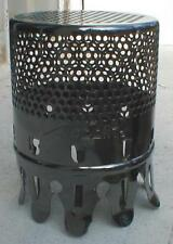 ALADDIN LOGO INSECT SCREEN alladin oil lamp chimney BLACK PEARL NICKEL bug guard