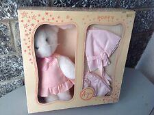 Rarissimo ALBERANI TOYS plush Rabbit with dress# coniglietto peluche con vestiti