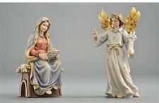 The Annunciation - Italian Woodcarving by PEMA - Hand Carved and Painted.