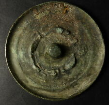 CHINESE Shaman's HAN to SUI DYNASTY TOLI MELONG BRONZE MIRROR 25 AD to 618 AD